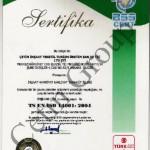 TS EN ISO 14001 : 2004